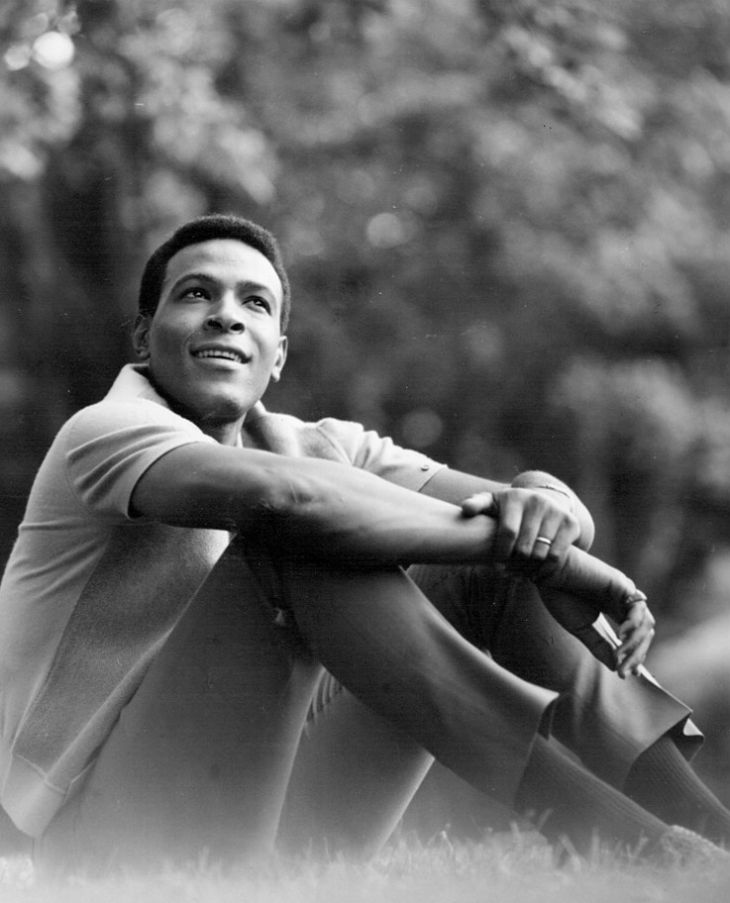 Marvin Gaye em foto de 1966 (J. Edward Bailey | eBayfrontback/Domínio público/Wikimedia Commons)