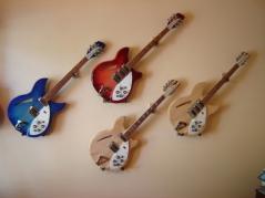 Guitarras Rickenbacker (Foto: Gwvest/CC BY-SA 3.0/Wikimedia Commons)
