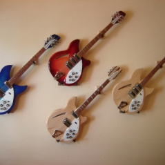 Guitarras Rickenbacker (Foto: Gwvest/CC BY-SA 3.0/Wikimedia Commons)
