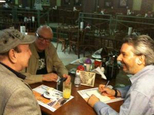 Juarez Fonseca e Márcio Pinheiro entrevistam João Donato