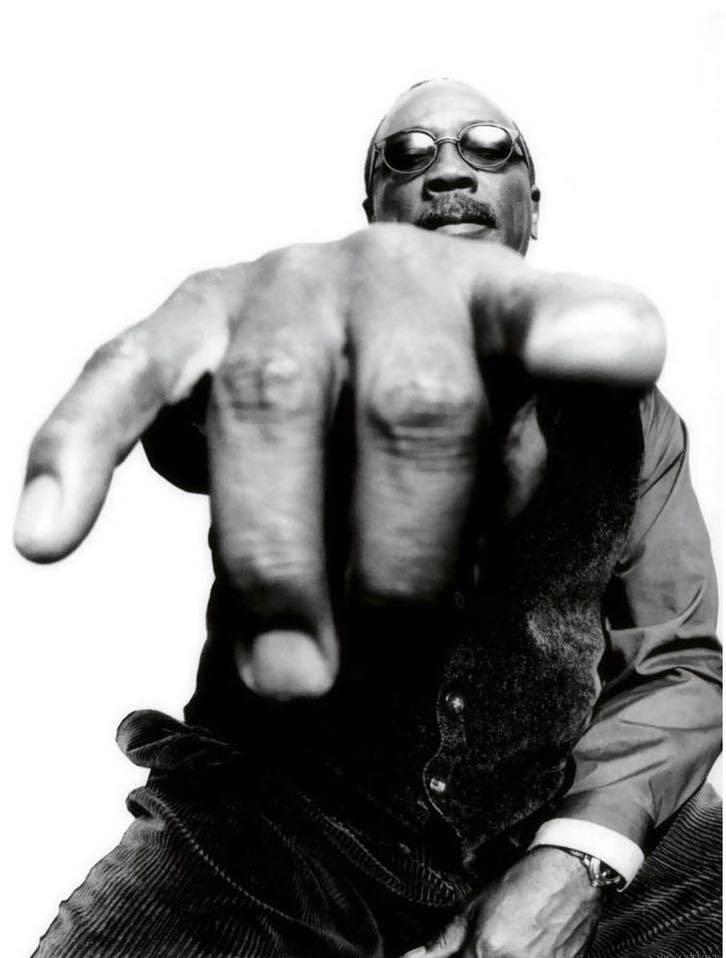 Foto de Platon Antoniou, publicada na página de Quincy Jones no Facebook (http://goo.gl/9cBWDT)