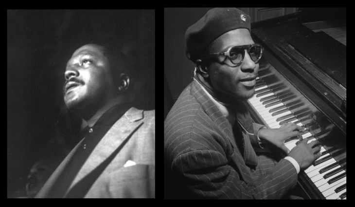 Bud Powell e Thelonious Monk (Fotos: Wikimedia Commons)
