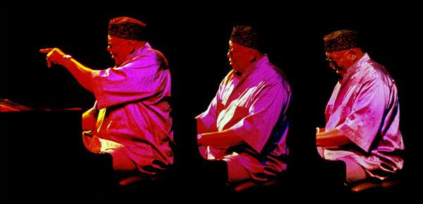 Randy Weston no Bataclan, em Paris, em 2002 (Foto: J. Harlaar/Divulgação)