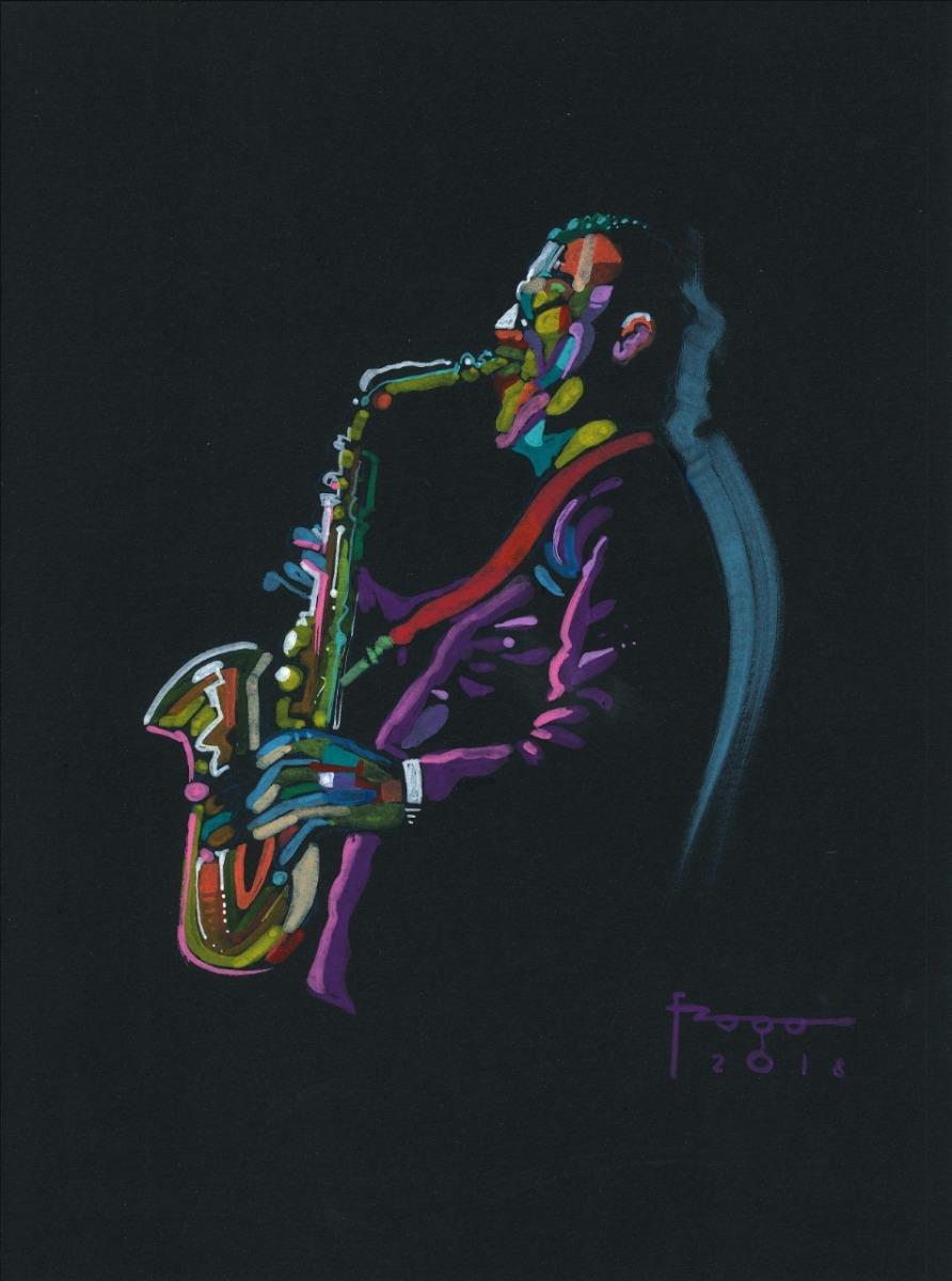 Jazz com pincéis